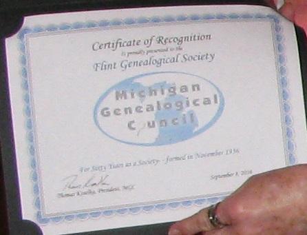 60th certificate