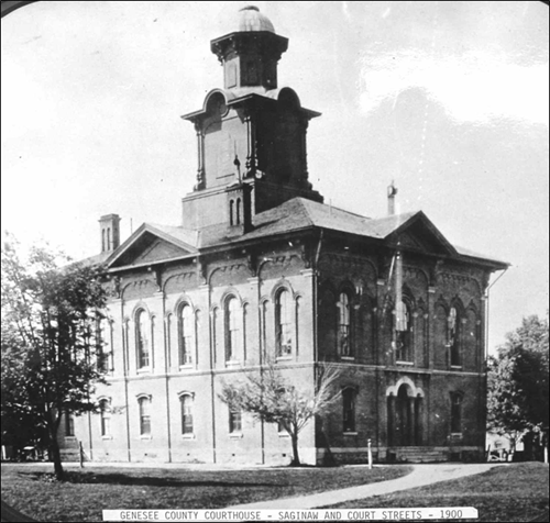 This is the first stand alone county courthouse. It was replaced in 1904.