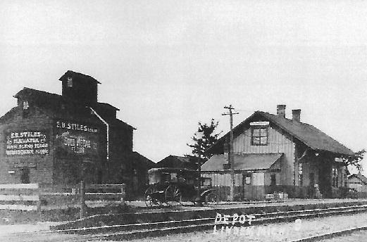 Linden Depot  1875 - 1970