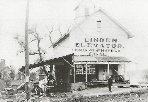 Linden elevator - early 1900's