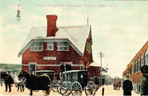 Pere Marquette Passenger Station, Flint, Mich.
